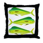 Mahi-Mahi Dolphinfish 3 Throw Pillow