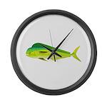 Mahi-Mahi Dolphinfish 3 Large Wall Clock