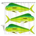 Mahi-Mahi Dolphinfish 3 Shower Curtain