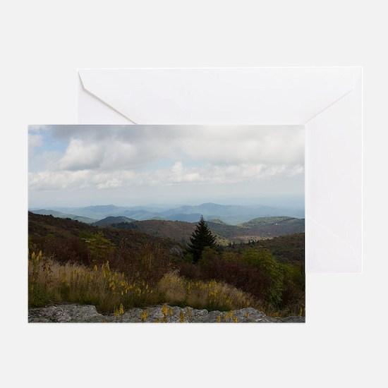 Cute Mountains Greeting Card