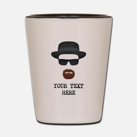 [Your Text] Heisenberg Shot Glass