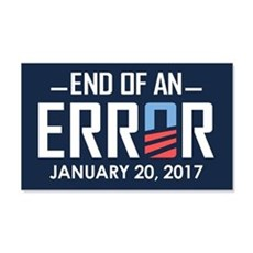 End Of An Error Wall Decal