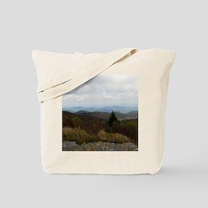 North Carolina Mountain Range Tote Bag