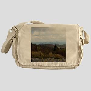 North Carolina Mountain Range Messenger Bag
