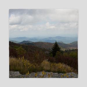 North Carolina Mountain Range Queen Duvet