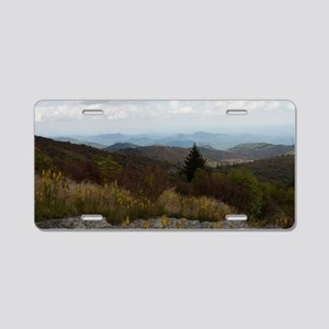 North Carolina Mountain Ran Aluminum License Plate