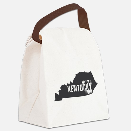 My Old Kentucky Home Canvas Lunch Bag
