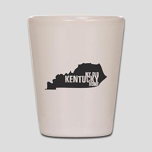 My Old Kentucky Home Shot Glass