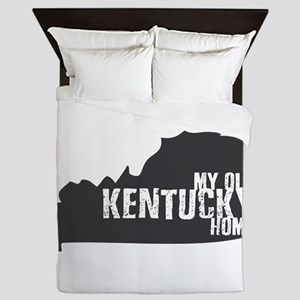 My Old Kentucky Home Queen Duvet