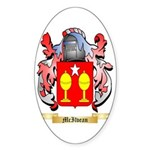 McIlvean Sticker (Oval 50 pk)