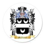 McIlmoil Round Car Magnet