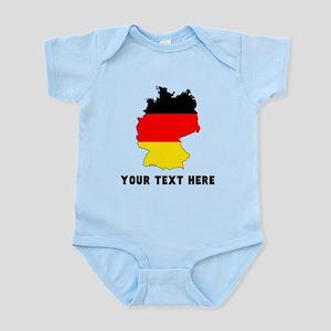 German Flag Silhouette (Custom) Body Suit