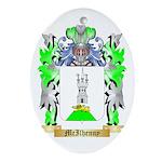 McIlhenny Oval Ornament
