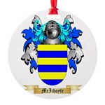 McIihoyle Round Ornament