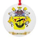 McIan Round Ornament