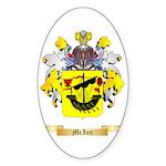 McIan Sticker (Oval 50 pk)