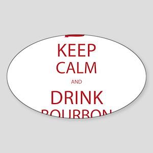 Keep Calm and Drink Bourbon Sticker