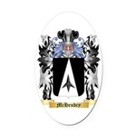 McHendry Oval Car Magnet