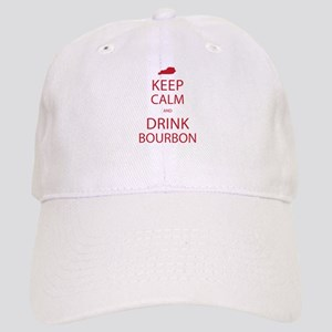 Keep Calm and Drink Bourbon Cap