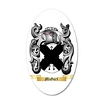 McGurl 20x12 Oval Wall Decal