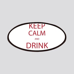 Keep Calm and Drink Bourbon Patch