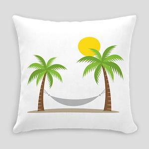 Hammock & Palms Everyday Pillow
