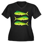Mahi-Mahi Dolphinfish 3 Plus Size T-Shirt