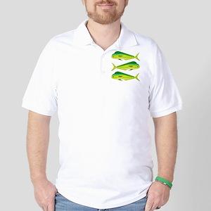 Mahi-Mahi Dolphinfish 3 Golf Shirt