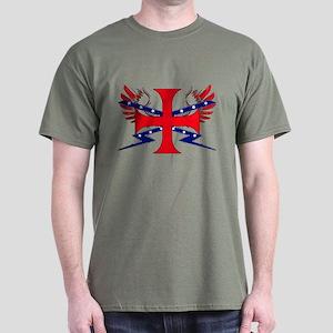 Templar Republic Flag Dark T-Shirt