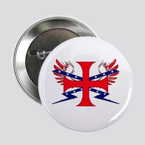 "Templar Republic Flag 2.25"" Button"