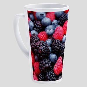 BERRIES 2 17 oz Latte Mug