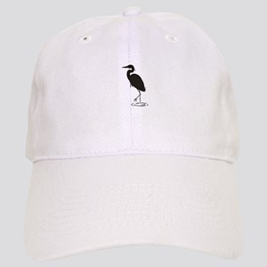 Heron Silhouette Baseball Cap