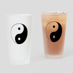 Yin Yang Drinking Glass