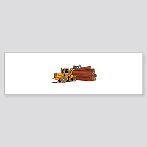 Logging Loader Bumper Sticker