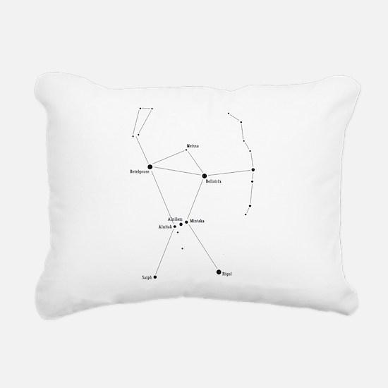 Cute Orion Rectangular Canvas Pillow