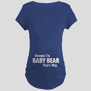 Baby Bear Maternity T-Shirt