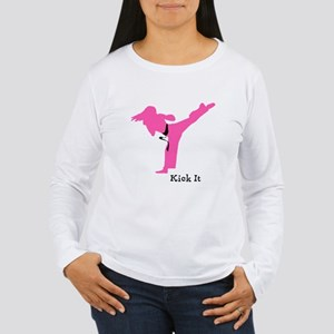 Karate Women's Long Sleeve T-Shirt