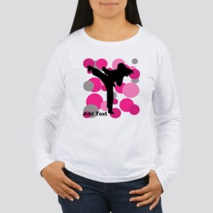 Martial Arts Women's Long Sleeve T-Shirt