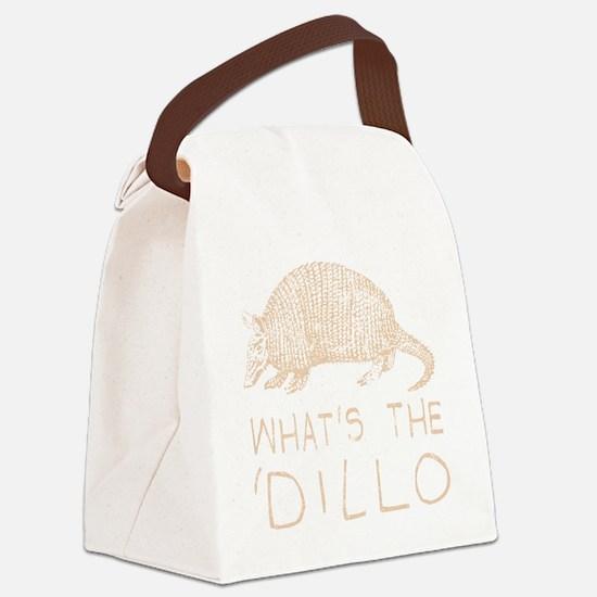 Funny Armadillos Canvas Lunch Bag