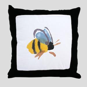 bee2 Throw Pillow