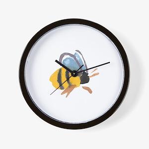 bee2.jpg Wall Clock