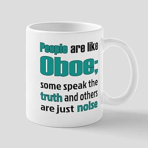 People are like Oboe 11 oz Ceramic Mug
