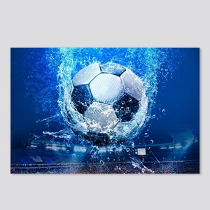 Ball Splash Over Stadium Postcards (Package of 8)