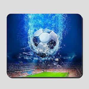 Ball Splash Over Stadium Mousepad