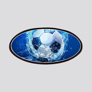 Ball Splash Over Stadium Patch