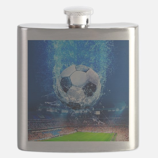 Ball Splash Over Stadium Flask