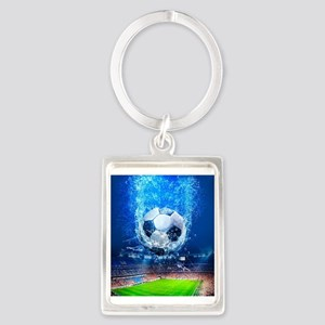 Ball Splash Over Stadium Keychains