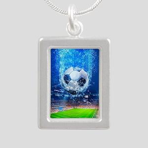Ball Splash Over Stadium Necklaces