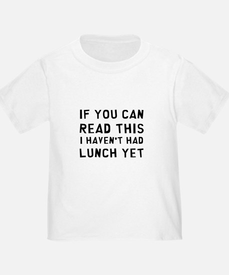 Lunch T