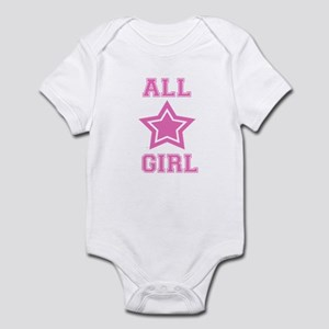 All Star Girl Infant Bodysuit